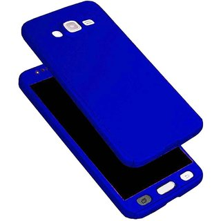 iPaky 360 Full Body Protection With Tempered Front & Back Cover for Samsung Galaxy J2 2016 - Blue