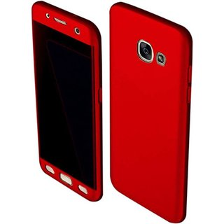 reputable site 037ef 7b00c iPaky 360 Full Body Protection With Tempered Front & Back Cover for Samsung  Galaxy J5 Prime - Red