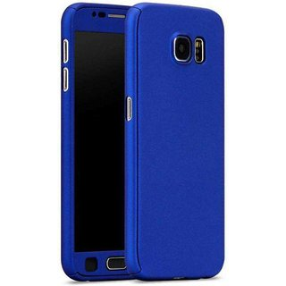 iPaky 360 Full Body Protection With Tempered Front & Back Cover for Samsung Galaxy S6 - Blue