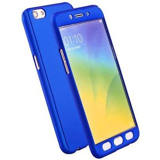 lowest price 754a9 be9c6 iPaky 360 Full Body Protection With Tempered Front & Back Cover for Xiaomi  Redmi 4A - Blue