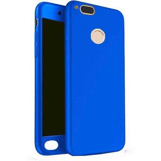 info for cea80 6cc31 iPaky 360 Full Body Protection With Tempered Front & Back Cover for Xiaomi  Mi A1 - Blue