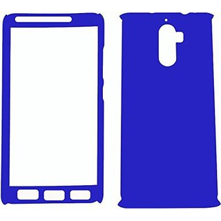 iPaky 360 Full Body Protection With Tempered Front & Back Cover for Lenovo  K8 Note - Blue