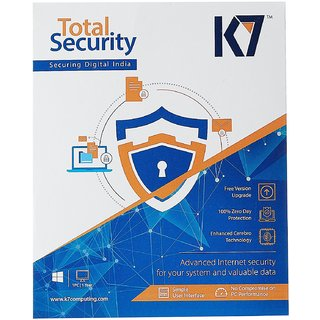 K7 Total Security - 1 User 1 Year Latest Version