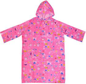 Pari  Prince Multicolor Raincoat Assorted Prints For Kids