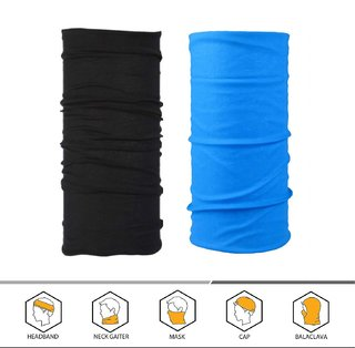 The Blazze 2PCS Outdoor Headscarves for ATV/UTV riding, Seamless Bandanas Tube, High Elastic Headband with UV Resistance