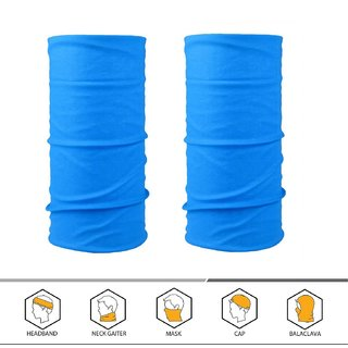 The Blazze 2PCS Outdoor Headscarves for ATV/UTV riding, Seamless Bandanas Tube, High Elastic Headband with UV Resistance