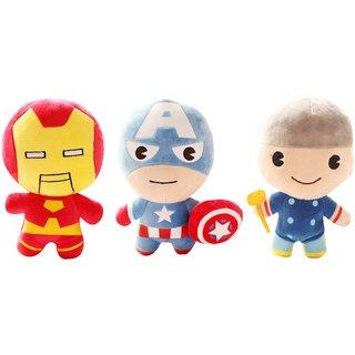Avengers Thor Captain America Iron Man Soft Toys Plush Stuffed Toys - 20 cm