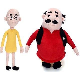 Motu Patlu 35cms Soft Toy Plush Stuffed Toy - 5 cm