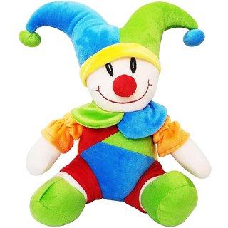 Joker Clown 40cms Soft Toy Plush Stuffed Toy - 5 cm