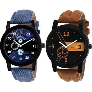 Combo of 2 Men Watches