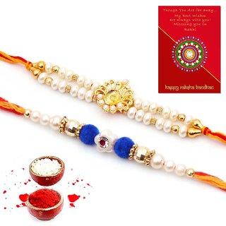 Mannat Assorted Rakhi (Set of 2)