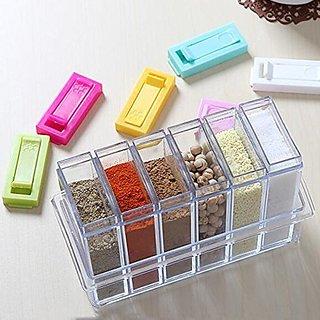Buy Quality 6 Set Acrylic Spice Seasoning Food And Masala Rack Box