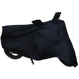 KunjZone Premium Bike Body Cover Black For Hero Passion Plus