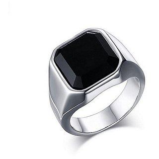 Sulemani Hakik Ring Silver Plated Certified Stone Jaipur Gemstone