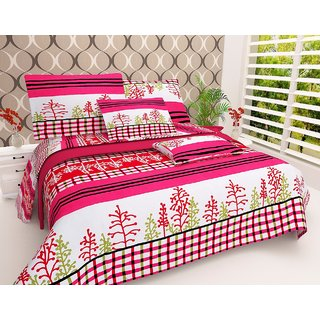 craftwell amazing 3d bedsheet with 2 Pillow cover