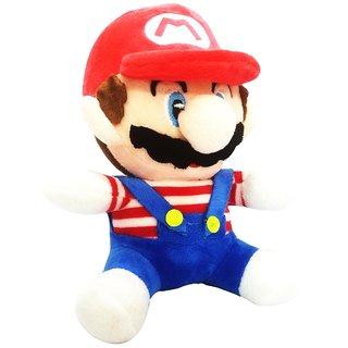 Mario 20cms Soft Toys Plush Stuffed Toys - 4 cm