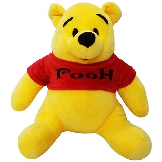 Pooh From Winnie The Pooh 38cms Soft Plush Stuffed Toy - 18 cm
