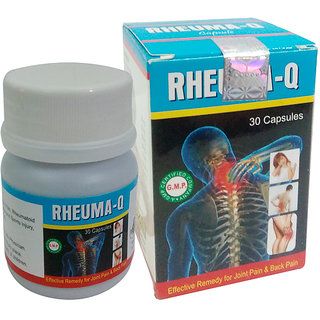 Herbal Rheuma-Q 30 Capsules Pack of 3 by Purepassion.in