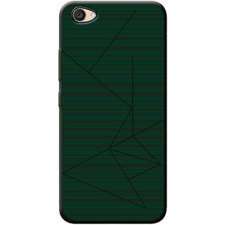 Cellmate Professional Strip Back Case and Cover for Vivo Y53 - Dark Green