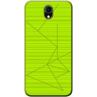 promo code 8c68f 86136 Cellmate Professional Strip Back Case and Cover for Micromax Bharat 4 -  Lime Yellow