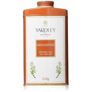 Yardley London - Imperial Sandalwood Talc  250g )Pack of 2)