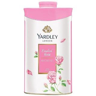 Yardley London English Rose  Perfumed Talc  250g (Pack of 2)