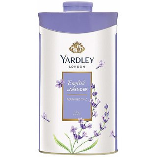 Yardley London English Lavender Perfumed Talc  250g (Pack of 2)