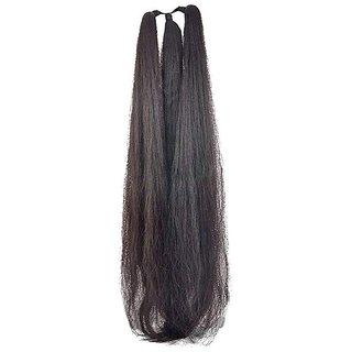 GaDinStylo 42Inchs Black Hair Parandi for Wedding Accessories