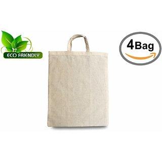 Indians Boutique Unisex 100 Eco-Friendly Cotton Tote Bag,  Natural