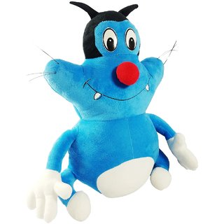 Oggy From Oggy And The Cockcroches 45cms Soft Toy Plush Stuffed Toy