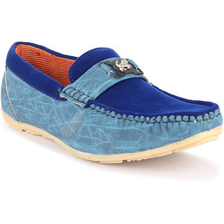 a3039473af49d Buy Footista Mens Blue Loafers Online - Get 51% Off