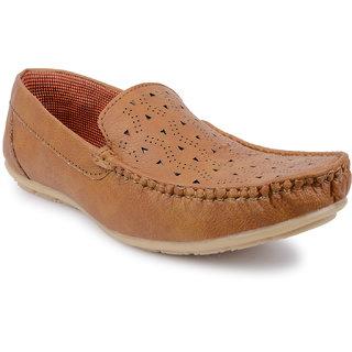 77fe128167371 Buy Footista Mens Tan Loafers Online - Get 51% Off