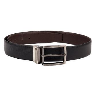 Kara Men Black Solid Belt-42-Black