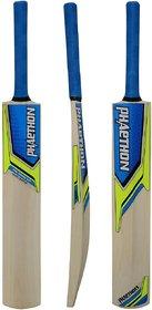 PHAETHON BT101 Tennis Bat Poplar Willow Cricket Bat (Full Size, 1 kg)