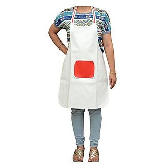Style Maniac home use Tendy Waterproof Apron With Pocket