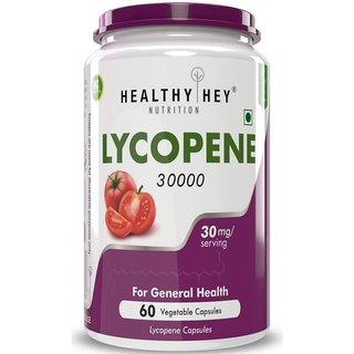 HealthyHey Lycopene 30000mcg - 60 Veg. Capsules