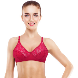 c1c45e84ce Buy Avyagra Presents Non Padded Full Coverage Bra for Women and Girls  Online - Get 77% Off