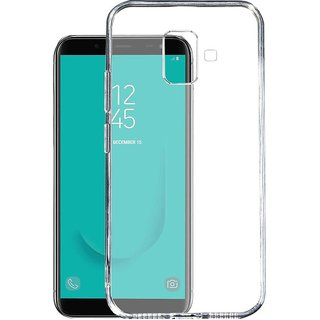 finest selection 1bf89 db78f Transparent Soft Back Cover Case For Samsung Galaxy J6