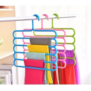 Evershine 5 Layers Hanger for Pants/Scarf/Towels (2pcs)