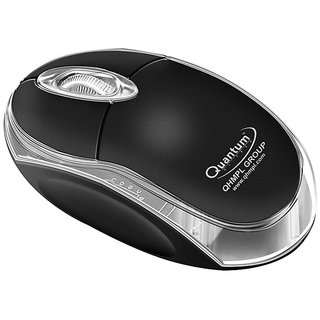 Quantum QHM222 USB Wired Mouse 1 Year Manufacturer Warranty