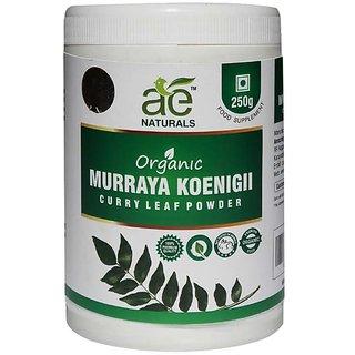 AE NATURALS Pure Organic Murraya koenigii-Curry Leaf Powder 250g