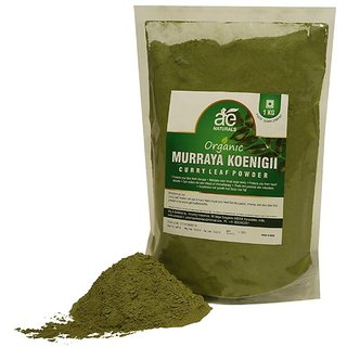 AE NATURALS Pure Organic Murraya koenigii-Curry Leaf Powder 1 Kg
