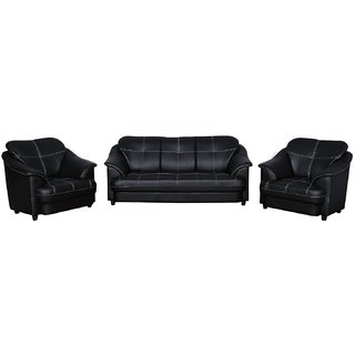Buy Gioteak Titanic Sofa Set 3 1 1 In Leatherite Online Get 60 Off