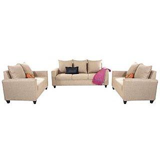 Gioteak Foshan 3+2+2 Sofa Set in Beige Colour