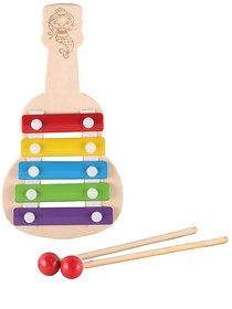 BuzyKart Eco-Friendly Guitar Shaped Xylophone Toy
