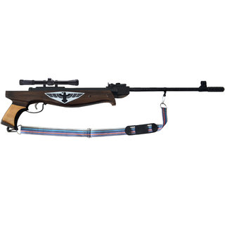 Air Gun Short Rifle Model Metal Body For Perfect Target Practice with Scope 500 Pellets Free