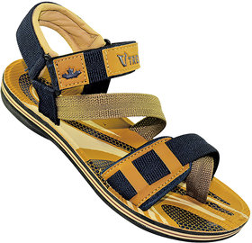 Vtree Stylish Blue  Brown Color Sandals For Men - 5020