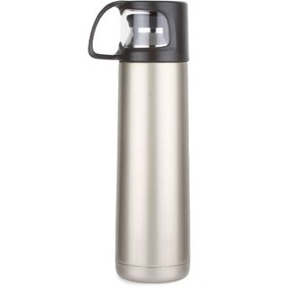 b26f4bfbe55 Bincy Stainless Steel Hot Cold Vacuum Water Bottle With Portable Drinking  Cup 500 Ml Flask(Pack of 1