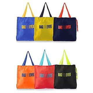 Bagforever multi utility shopping bag(Pack of 6)