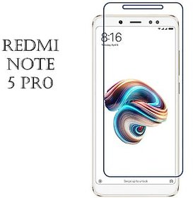 Redmi Note 5 Pro Tempered Glass Best Quality Curved Gla